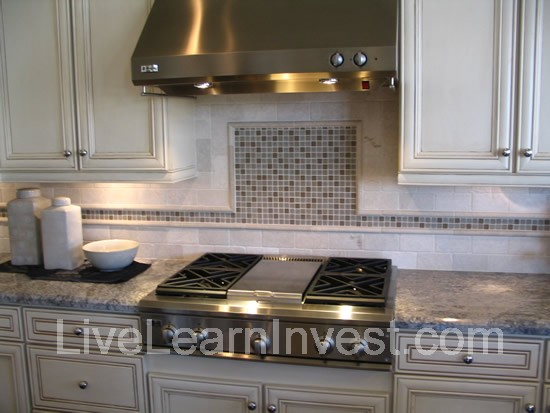 granite countertops and kitchen tile backsplashes live